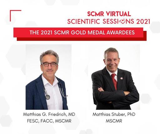 Professor Matthias Stuber awarded 2021 SCMR Gold Medal